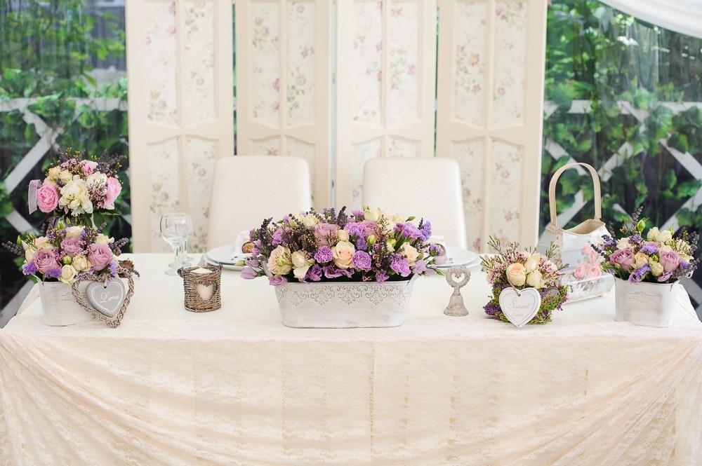 Оформление свадьбы в стиле рустик